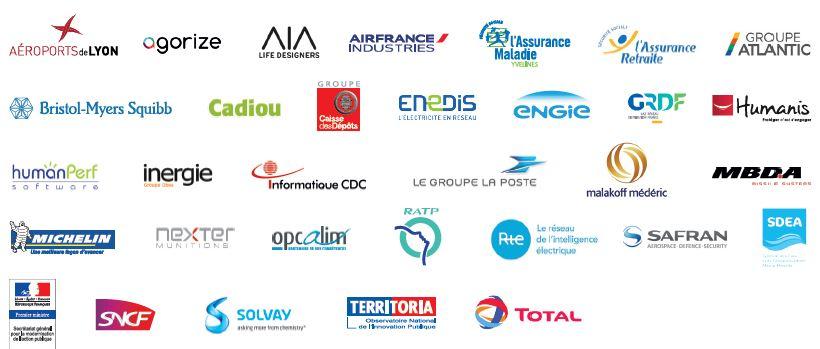 membres partenaires Innov'Acteurs - acteurs de l'innovation participative