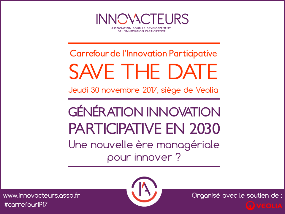 Save the date - Carrefour de l'innovation participative 2017